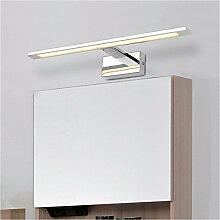 Badewanne Spiegel Lampen lisafeng wc Spiegel Lampen-LED vor dem Spiegel Lampe wc Spiegel schränke Badezimmer Kosmetikspiegel Lampe, 68 cm - Desktop warmes Weiß