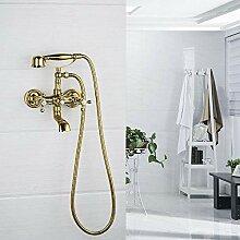 Badewanne Wasserhahn Duschset Wandmischer