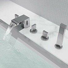 Badewanne Wasserhahn Messing mit Handbrause