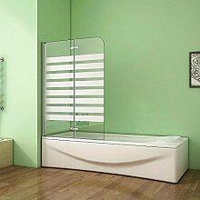 Badewannenaufsatz Duschabtrennung Duschwand