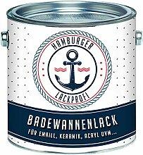 Badewannenlack GLÄNZEND Grauweiß RAL 9002 Grau