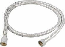 Badezimmer 19mm Gewinde Edelstahl Flexible Dusche Schlauch Rohr 149,9cm