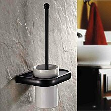 Badezimmer Accessoires antike kupfer Toilettenbürste Toilettenbürste WC bürste set Tassenhalter K506 schwarz Lade-WC Bürstenhalter