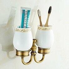 Badezimmer Antike Badetuch Handtuch Zahnbürste