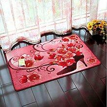 Badezimmer Badezimmer Schlafzimmer Matratze Matratzen Matratzen rutschfeste Matten Teppiche Home Türmatten ( farbe : C5 , größe : 60*90cm )