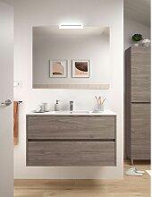 Badezimmer Badmöbel 100 cm aus Eiche eternity