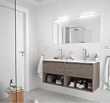 Badezimmer Badmöbel 120 cm aus Eiche eternity