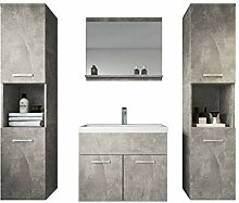 Badezimmer Badmöbel Montreal XL 60 cm Waschbecken