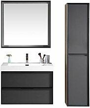 Badezimmer Badmöbel Set Hoover 80cm -