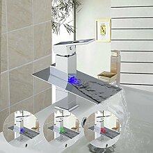 Badezimmer Deck montiert mit 3 Color Waschbecken