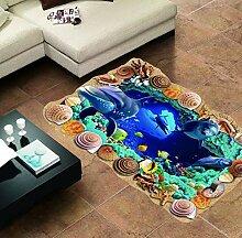 Badezimmer Dekoration Sea Whale Fish 3D
