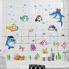 Badezimmer Dusche Zimmer Dekoriert Wand Fliesen