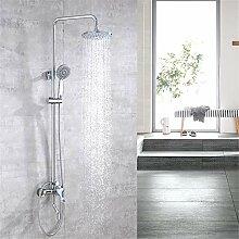 Badezimmer-Duschsystem-Set zum Heben von