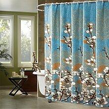 Badezimmer Duschvorhang Hängender Vorhang Wasserdichte Verdickung Anti - Mehltau Bad Trennwand Vorhang ( größe : 150*180cm )