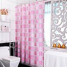 Badezimmer Duschvorhang Wasserdicht und Schimmel Badezimmer Trennwand Vorhang ( größe : 200*300cm )