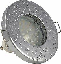 Badezimmer Einbaustrahler IP65 | Farbe Chrom
