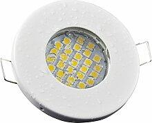 Badezimmer Einbaustrahler IP65 | Farbe Weiß |