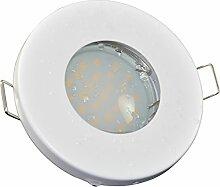 Badezimmer Einbaustrahler IP65 | Farbe Weiß matt