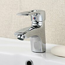 Badezimmer Einlochmontage Waschbecken Wasserhahn Waschbecken Wasserhahn Bad-Accessoires