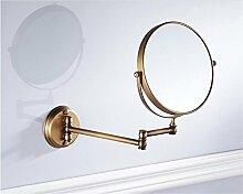 Badezimmer-Faltender Spiegel-Antiker
