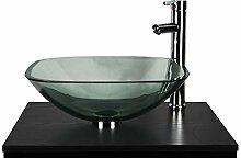 Badezimmer Garderobe zinntheken klar Glas