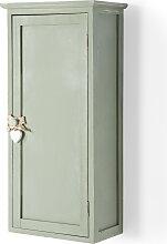 Badezimmer Hängeschrank Carlotta, grün