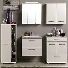 Badezimmer Kombination in Weiß online kaufen (5-teilig)