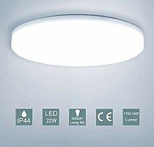 Badezimmer küche LED Deckenleuchte Rund