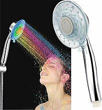 Badezimmer LED Duschkopf mit 7 verschiedenen