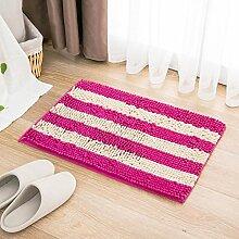 Badezimmer Matte 40 * 60cm Türmatten Anti-Rutsch-absorbierende Bodenmatten Bad Matratze Schlafzimmer Matte ( Farbe : G )