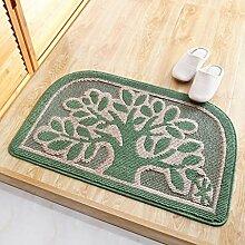 Badezimmer Matte 50 * 80cm Badmatte Tür Auflage Fuß Pad Tür Eingang Matratze Bad Matte ( Farbe : F )