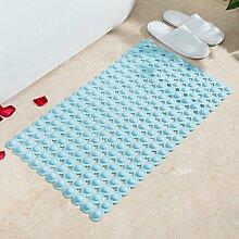 Badezimmer Matte, Badematte, Fußmatte, Wc, Badezimmer Mat, 38 X 70 Cm, Hellblau