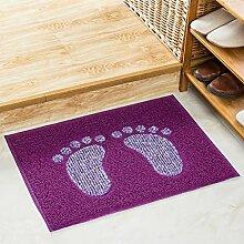 Badezimmer Matte Eingang Tür Matratze Badezimmer Tür Matte Matte Badezimmer Küche Anti - Rutsch Matte ( Farbe : A , größe : M )