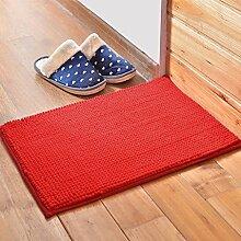Badezimmer Matte Matratze, Badezimmermatte, saugfähige Matte, Schlafzimmer Matratze, Badezimmer-Matte, 40 * 60cm / 50 * 80cm Matte, rechteckig Mat ( Farbe : B , größe : M )