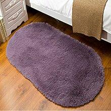 Badezimmer Matte Mats Home Teppiche Seide Decken Schlafzimmer Teppiche Matratzen Puzzles Oval Teppiche Office Teppich ( größe : 80*160cm )