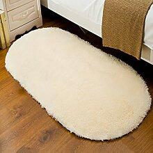 Badezimmer Matte Mats Home Teppiche Seide Decken Schlafzimmer Teppiche Matratzen Puzzles Oval Teppiche Office Teppich ( größe : 50*160cm )