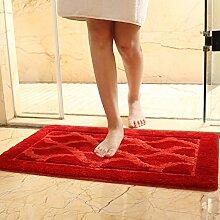 Badezimmer-matten/Wasserabsorbierenden Teppiche/Anti-rutsch-matte/Foot Pad/Bodenmatte/Fußabtreter/Tür Matten In Der Halle/Schlafzimmer-indoor-matten-E 60x90cm(24x35inch)