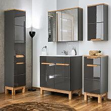 Badezimmer Möbel Set 5-teilig mit 60 cm