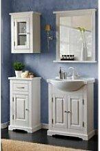 Badezimmer Möbel Set inkl.Keramik-Waschbecken 65