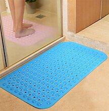 Badezimmer non-slip mat, Grüne und geschmacklos pvc-matte, Badewanne fuß-massagematte-A 38cm*70cm