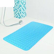 Badezimmer non-slip mat, Verdickte pvc kissen, Dusche badewanne, Fuß-massagematte geschmacklos umwelt große badewanne-C 47cm*77cm