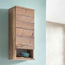 Badezimmer Oberschrank im Dekor Fichte Grau 30 cm