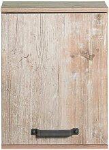 Badezimmer Oberschrank in Grau Eiche Optik 40 cm