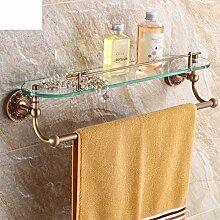 Badezimmer Regal/Alle Kupfer antike Bad-Accessoires/Kosmetik Regale