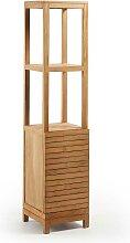 Badezimmer Regal aus Teak Massivholz 40 cm breit
