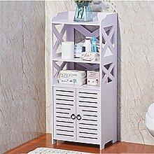 Badezimmer-Regal Bodenfestes wasserdichtes