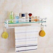 Badezimmer Regal Glas, Bad Regale, Glasregal mit