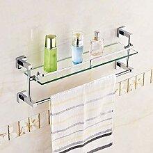 Badezimmer Regal Glas, Badezimmer Glasregal,