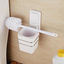 Badezimmer Regal Glas, WC-Bürsten-Satz WC-Rack