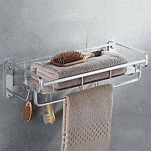 Badezimmer Regal mit Schiene Badezimmer Regal